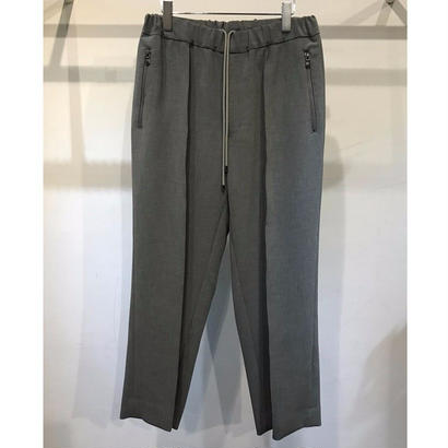 P/PU  W CLOTH EASY WIDE TROUSERS