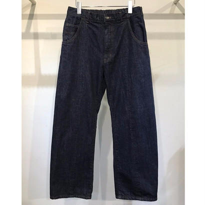 11.5oz DENIM  EASY  FLARE  PANTS