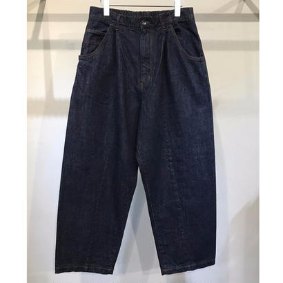 11.5oz DENIM  EASY  WIDE  PANTS