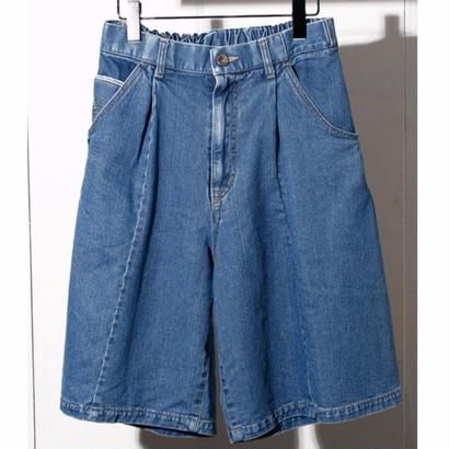 10 oz DENIM BUGGY SHORT PANTS