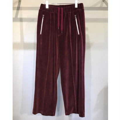 C/E HEAVY VELOUR EASY JERSEY PANTS