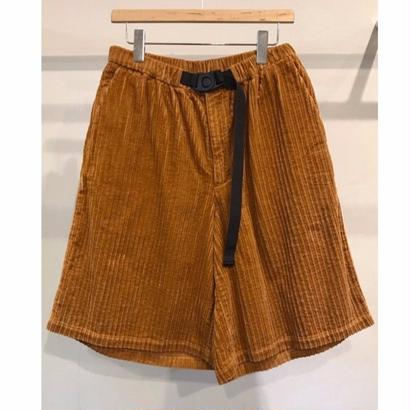 5W COTTON  CORDUROY  EASY SHORT PANTS