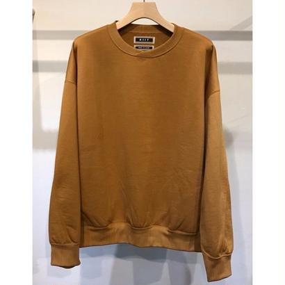 NYLON / COTTON PILE CREW NECK TOPS