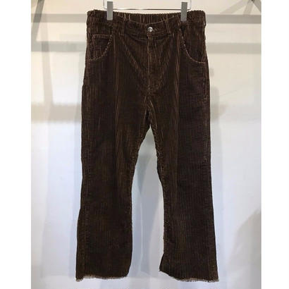 5W COTTON  CORDUROY  FLARE PANTS