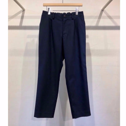 C / P  DOUBLE  CLOTH  EASY  TAPERED  PANTS