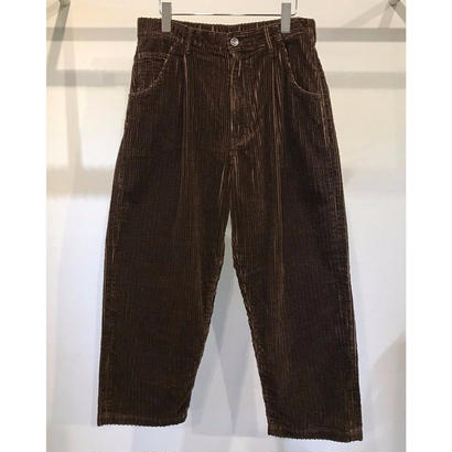 5W COTTON CORDUROY WIDE PANTS