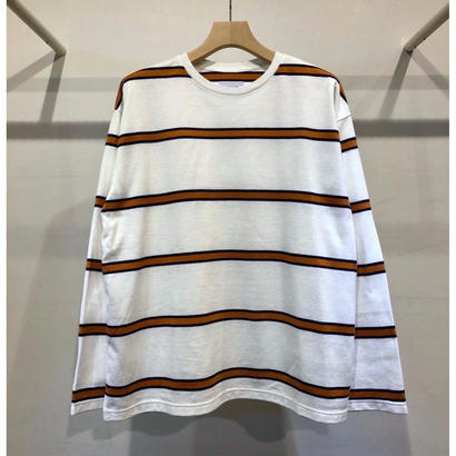 STRIPE L/SLEEVE TEE