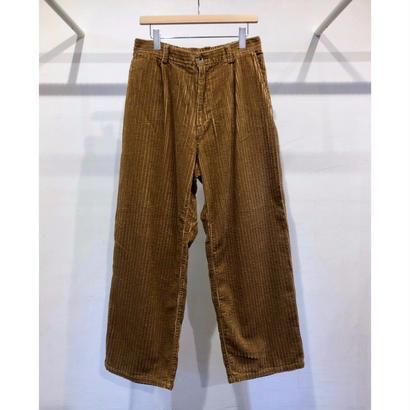 5W CORDUROY  EASY  WIDE  TROUSERS