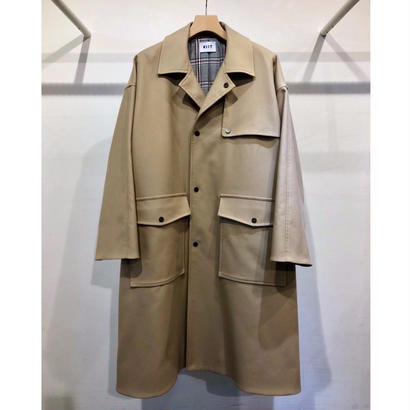 C / P DOUBLE CLOTH  TRENCH  COAT