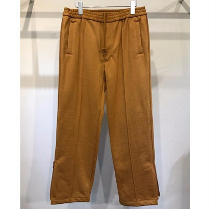NYLON / COTTON PILE SIDE ZIP TRACK PANTS