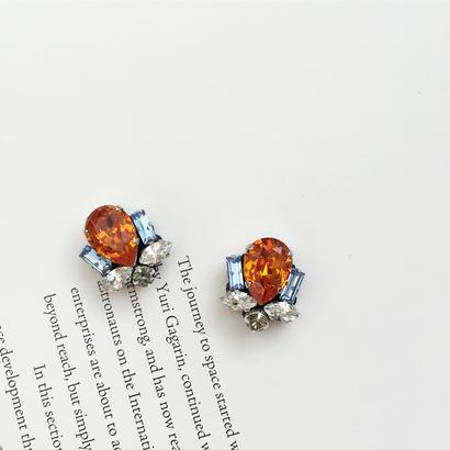 Bijoux earring in orange