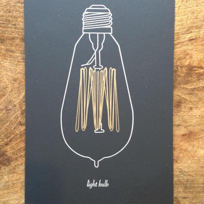 電球カード