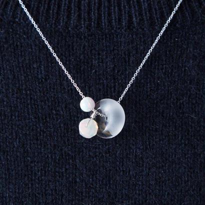 marble neckless / 16-n12