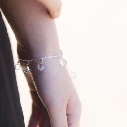 aqua bracelet / 16-v1