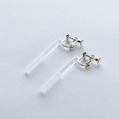 sandblast earring / 16-p30(e)