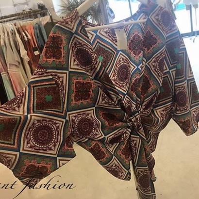 バーガンディ 羽織り