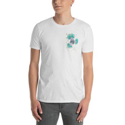 バオバブの惑星Tシャツ/ Baobab planet T-shirt  のコピー
