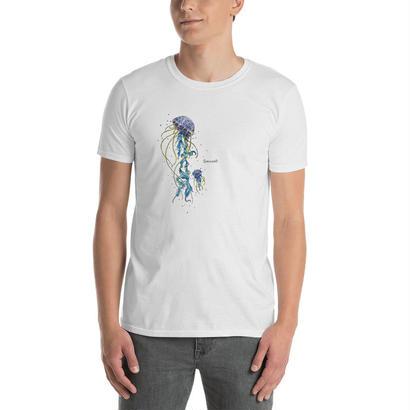 オリジナルデザインの宇宙船Tシャツ/ Spacecraft T-shirt