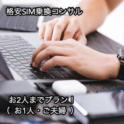 格安SIM乗換コンサル(お2人までプラン)