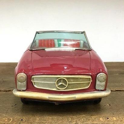 [Toy car] ブリキ/Mercedes-benz 250SL/寺井商店(ダイヤ)
