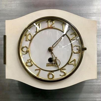 [Clock] Vintage French Formica wall clock