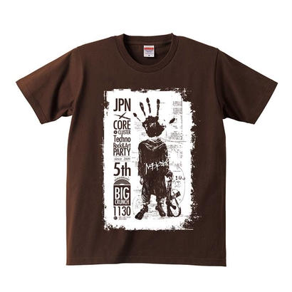 "BIG CRUNCH T-SHIRT 003 ""5th ANNIVERSARY SPECIAL DESIGN"""