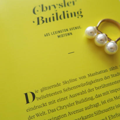stick pearl ring