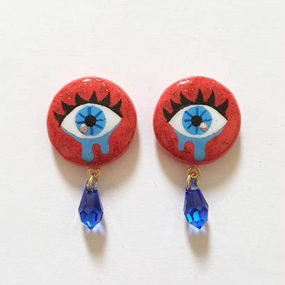RED EYE  イヤリングorピアス