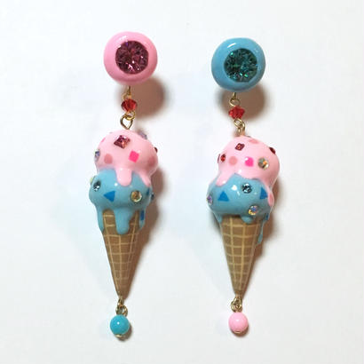DOBBLE ICE CREAM ピアス