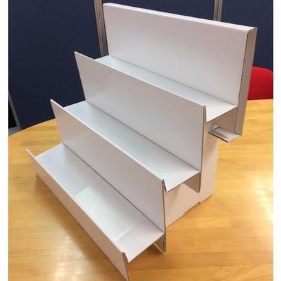 一七式簡易紙製什器 KAMINOTANAⅡセット(キャリーケース+棚1個)