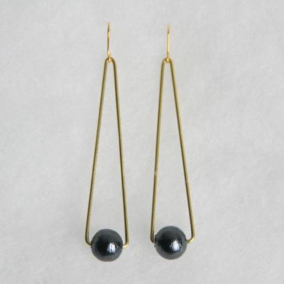 sankaku pearl pierce long [VP-034b]
