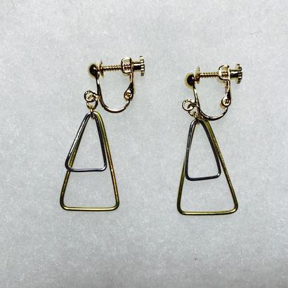 sankaku earring double [VE-014]
