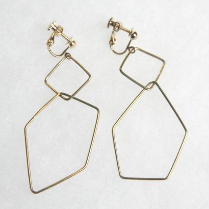 sikakukaku earring [VE-011]