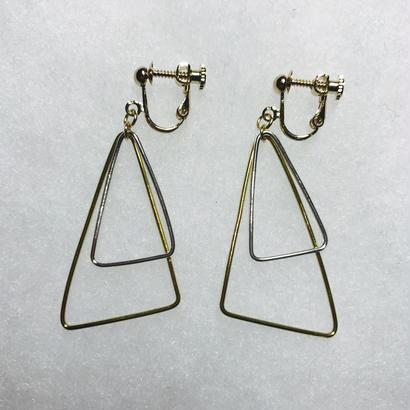 sankaku earring double L [VE-017]