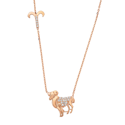 Rose Gold Zodiac Signs おひつじ座