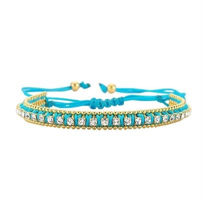 amorium Jewelry thick bracelet / Blue