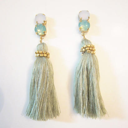 Bijoux tassels (dusty green)