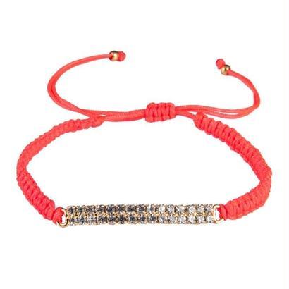 amorium Jewelry Thread bracelet / Coral