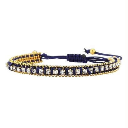 Thick Bracelet dark blue
