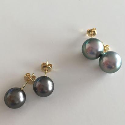 Tahitian black pearl (10mm)