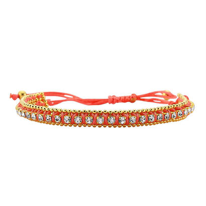 amorium Jewelry friendship thick bracelet/ coral