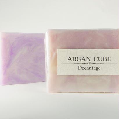 バースデーストーンソープ  アルガン の固形石けん  ARGAN CUBE(アルガン キューブ)洗顔ソープ 3500円+税