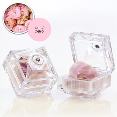 【携帯用 10枚入 ローズの香り】BIRTHDAY STONE SOAP ARGAN ¥1,250+税