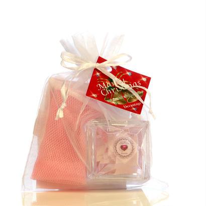 【クリスマス限定】バースデーストーンソープアルガンmini プチギフト(ローズの香り) ¥1,700+税