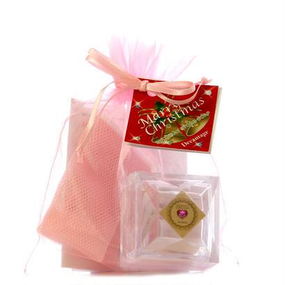 【クリスマス限定】バースデーストーンソープ プレミアムアルガン mini プチギフト(ラズベリーの香り) ¥1,700+税