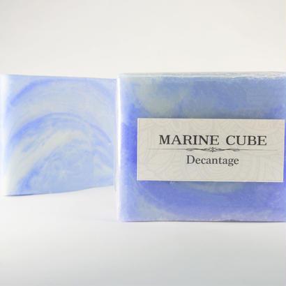 バースデーストーンソープ固形タイプ  MARINE CUBE(マリン キューブ)洗顔ソープ 4000円+税