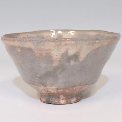 萩茶碗(11代 田原高麗陶兵衛)/ a3108