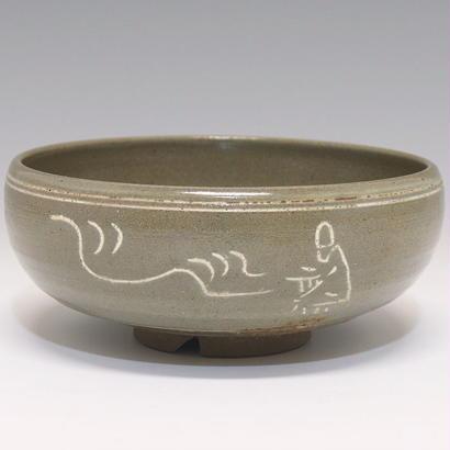 虫明平茶碗(鵬雲斎宗室 極)/ 1779