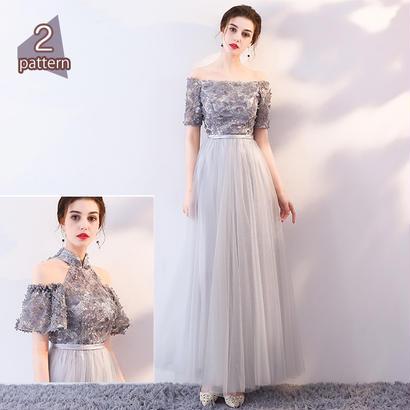パーティードレス 結婚式 二次会 ワンピース 結婚式ドレス お呼ばれワンピース 20代 30代 40代 ショート 黒 ピンク レース 花柄 シフォン