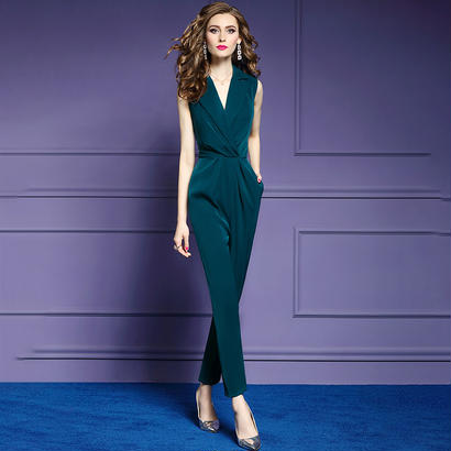 パーティードレス パンツ 結婚式 二次会 パンツドレス 結婚式ドレス お呼ばれドレス 20代 30代 40代 ロングドレス 緑